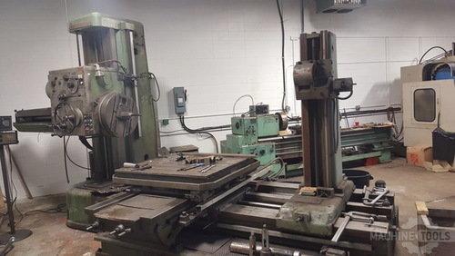 W100a horizontal boring mill