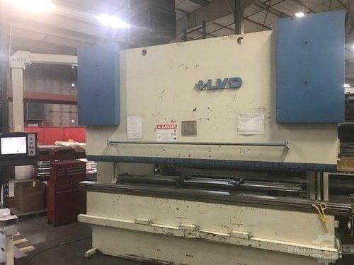 150 ton lvd cnc hydraulic press brake a