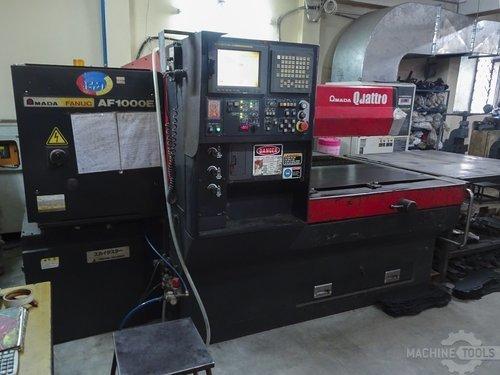 Left view of amada quattro af1000e machine