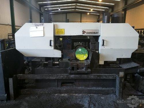 Front view of danobat asr 350 af machine