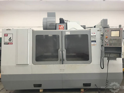 Used haas vf 6d 40 vertical machining center usa machinestation main