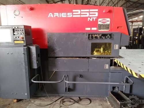 Front view 1 of amada aries 255nt machine