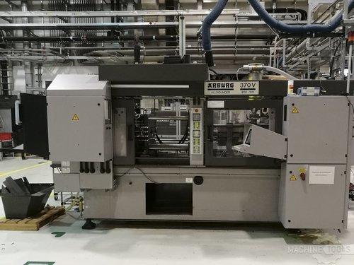 Front view of arburg 470v 800 315 machine