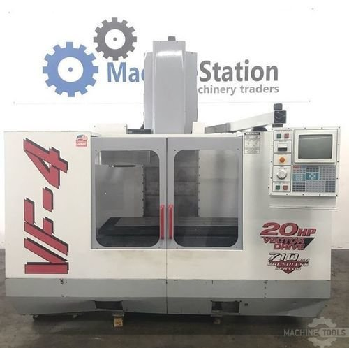 Used haas vf 4 vertical machining center machinestation usa main