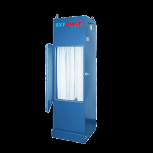 Dc50   sandblasting cabinet dust collectors   istblast