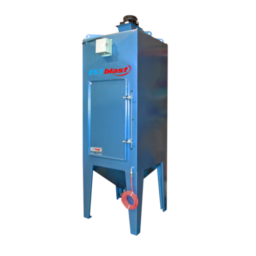 Dcm100 330   motorized dust collectors for industrial sandblasting cabinets   istblast