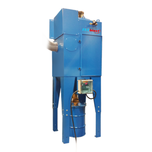 Dcm600 1800   cartridges type motorized dust collectors for sandblasting cabinet   abrasive blast room   istblast