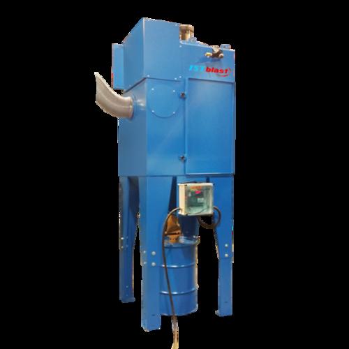 Dcm600 1800   cartridges type motorized dust collectors for sandblasting cabinet   abrasive blast room   istblast