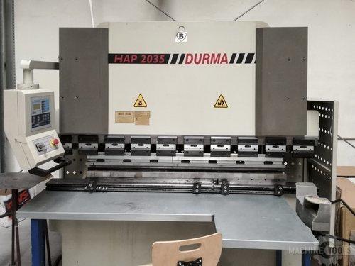 Front view of durma hap 2035 machine