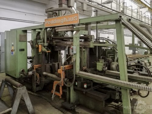 Right view of peddinghaus tdk 1000 3 machine