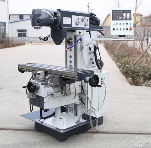 Ram type horizontal vertical milling miller machine