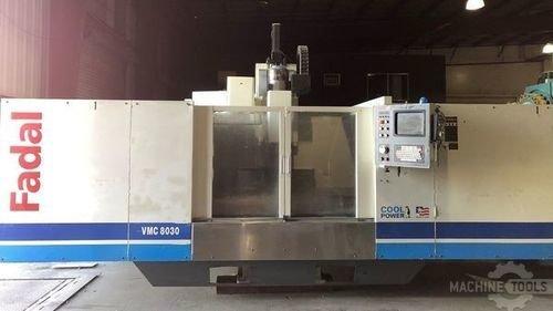 Fadal 8030 vertical machining center california usa