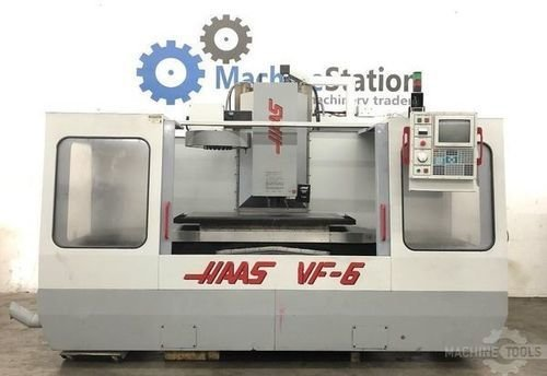 Used haas vf 6 vertical machining center california main