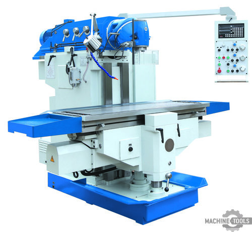 Ram type milling machine miller vertical