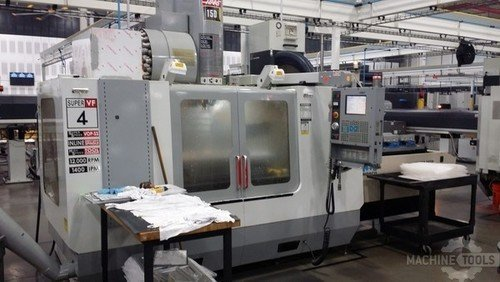 2003 haas vf 4ss with midaco pallet changer pic   1