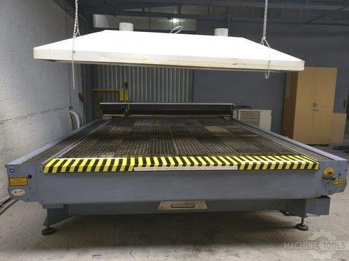 Front view of sei laser mercury 603 machine