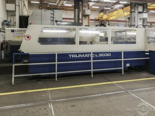 Left view 1 of trumpf trumatic l3030 machine