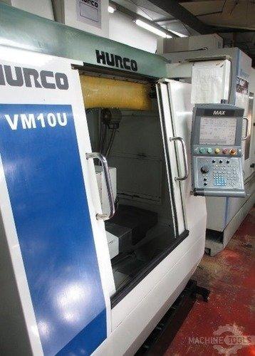 HURCO VM10U Vertical Machining Centers (5-Axis or More