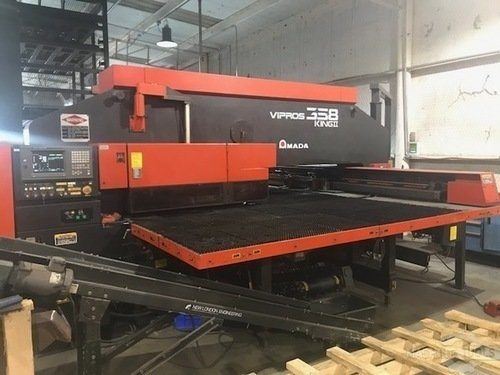 33 ton amada vipros 358 king ii cnc turret punch 3131 a
