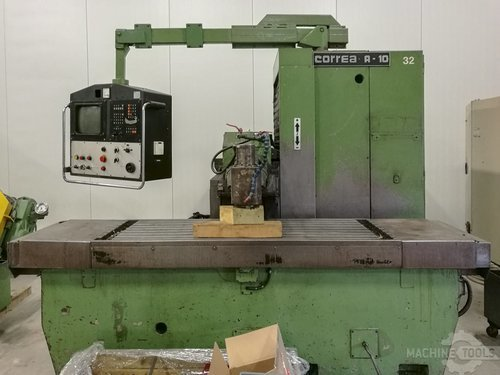 Front view of correa a 10 machine
