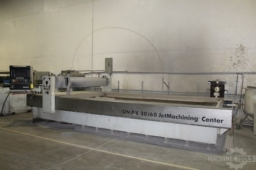 1926  2003 omax 80160 waterjet cutting system   pic 1