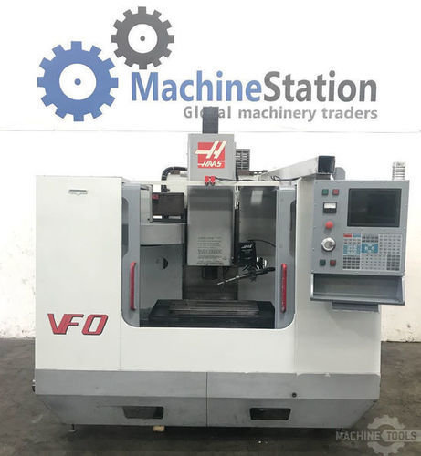 Used haas vf 0 vertical machining center for sale in california usa machinestation