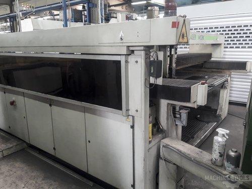 Back view of wegmann baasel vfa 1750 machine