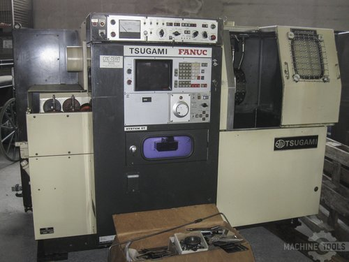 Front view of tsugami t ncm 45 160 machine