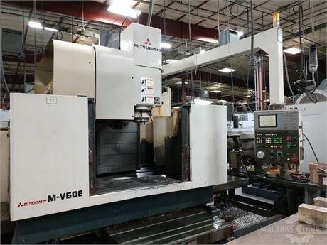 Mitsubishi m v60e   vertical machining center 2
