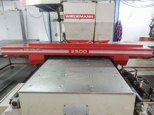 Front view of murata wiedemann c 2500 machine
