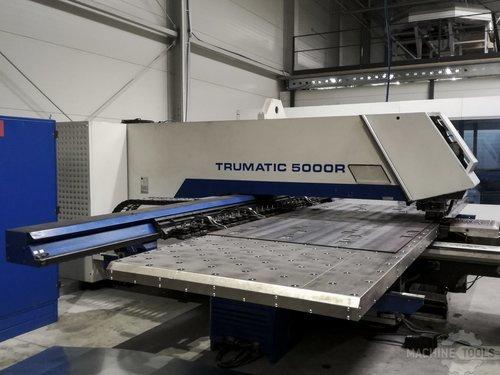 Left side view 1 of trumpf trumatic 5000 r machine