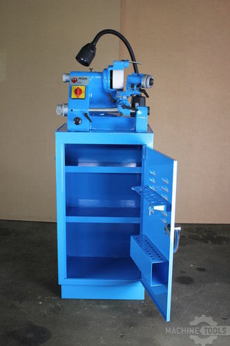 Phoenix grinder and cabinet front view
