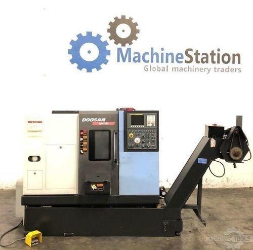 Used doosan lynx 220c cnc turning for sale in california machinestation