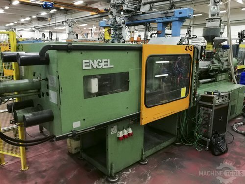 Left view of engel es 1300 200 machine