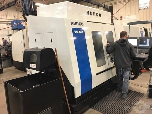 HURCO VMX42 Vertical Machining Centers Used - Excellent