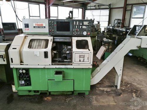 Front view of mazak quick turn 8n machine
