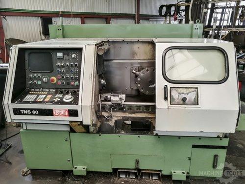 Front view of traub tns 60 machine