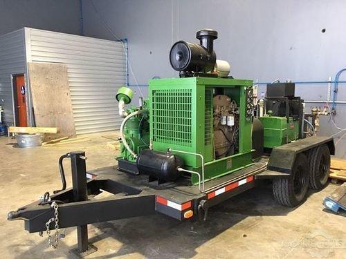Nlb 36 000 psi diesel blaster