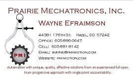 Prairie Mechatronics, Inc.