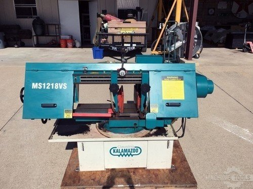 CLAUSING KALAMAZOO MS1218VS Horizontal Band Saws #443339
