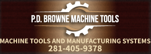 P.D. Browne Machine Tools