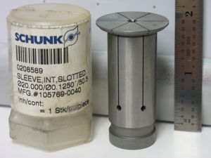 Schunk 20   .125in sleeve   use this one