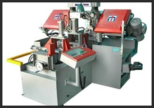 Double column fully automatic bandsaw machine