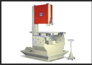 Manual vertical band saw machine